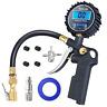 AstroAl, Digital Tire Inflator Pressure Gauge, Medium 250 PSI Air Chuck, Black
