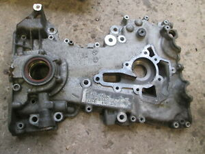 2003 VAUXHALL CORSA C 1.2 16V Z12XE TIMING CHAIN CASE COVER OIL PUMP 24469096