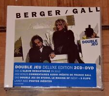 CD France Gall / Michel Berger - Double Jeu Deluxe Edition 2 CD + DVD (NEUF)