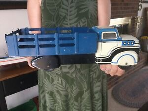 Vintage Marx Toy Truck Stake Bed Truck 1950's