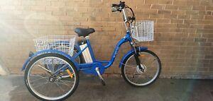 """Jorvik Electric Trike -Blue- 17"""" Frame - 48 hours delivery"""