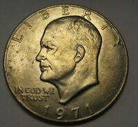 1971 Eisenhower Ike Dollar Uncirculated Condition Nice Higher End Coin   DUTCH