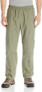 NWT Columbia PFG Backcast Convertible Fishing Pants Omni Shade Cypress Green Lg