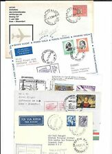 ITALY- 19 well-mixed-all different first flight covers, various #s & destination