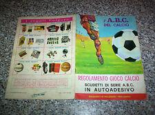 ALBUM L'ABC DEL CALCIO ED.LA FOLGORE 1967/68 VUOTO MB/OTT TIPO CALCIATORI PANINI