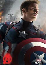 Captain America Poster Length: 500 mm Height: 800 mm SKU: 13356