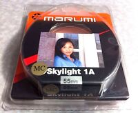 Marumi 55mm Skylight 1A Glass Lens Filter 55 mm Japan Multi-Coated SL-1A Sky 1A