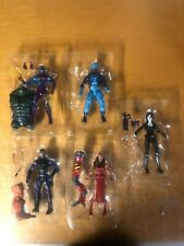 Marvel Legends Lot Of 5 figures Electra Domino Paladin Eel