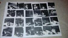 24 Fotokopien 70er Frau Amateur nackt  Fotos 9x9 cm