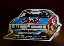 "Vintage Unopened Pack of STP Stickers - Richard Petty ""King Richard the Sixth"""