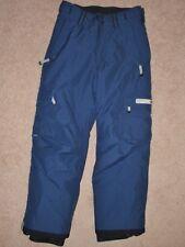 Boy Large 12-14 Bonfire Cargo Navy Blue Insulated Waterproof Ski Snowboard Pants