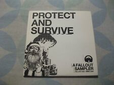 FALLOUT RECORDS SAMPLER 5 track Fratellis Wolfmother Cut Copy 2005 RARE