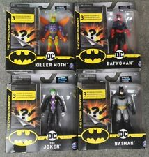 DC Comics The Caped Crusader Batman 4inch Figure With 3 Mystery Accessories