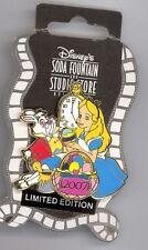 DSF Disney Alice in Wonderland White Rabbit Painting Eggs Easter LE 300 Pin