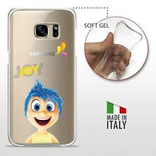 Samsung Galaxy S7 CASE COVER PROTETTIVA GEL TRASPARENTE Disney Inside Out Joy