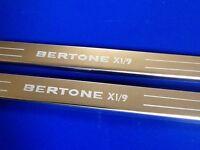 x19 bertone x19 acier inoxydable BAS DE PORTE gravé logo inclus FIXATIONS pneu