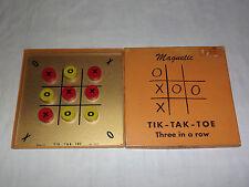 VINTAGE TOY  1960S DRUEKE MAGNETIC TIK-TAK-TOE GAME