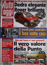Auto Oggi 50/51 1994 Lancia Dedra SW 1.8 LS contro Rover 416 GSi Tourer [Q70]