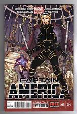 CAPTAIN AMERICA #4 - JOHN ROMITA JR ART & COVER - MARVEL NOW! - 2013