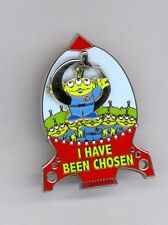 Disney Toy Story Little Green Men Alien I Have Been Chosen The Claw Slider Pin