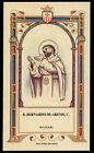 santino-holy card B.BERNARDO DE ARENIS mercedario