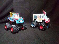 Rare Disney Pixar Cars Toon The Tormentor Monster Truck & I Screamer
