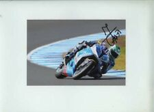 Vittorio Iannuzzo BMW World Superbikes Australia 2013 Signed Photograph 1