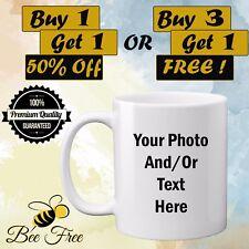 Personalised Mug Photo Text Image Customised Gift Freshers Birthday Graduation
