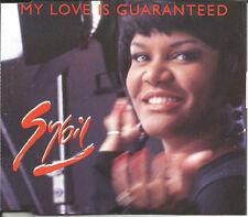 SYBIL Lynch  My Love Is Guaranteed 4TRX w/ 2 RARE MIXES CD single SEALED PWL