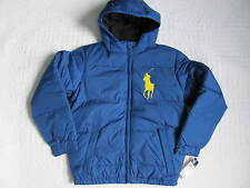 New with tags Polo by Ralph Lauren Big Boys Down Jacket Coat Blue Size M(10-12)
