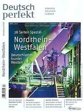 Deutsch perfekt, Heft April 04/2014 - Einfach Deutsch Lernen +++ wie neu +++