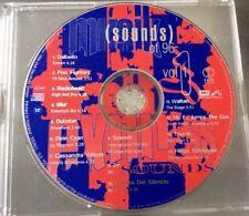 CD Sounds Of 96 - Vol 1 - Foo Fighters, Radiohead, Blur, Speech, Be, u.v.a
