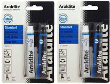 2 x Araldite Standard Ultra Strong Heavy Duty all material bonding Adhesive Glue
