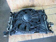 Front AC Fan Radiator Condenser Set OEM Hyundai Genesis Sedan 3.8L V6 12-14
