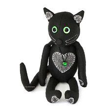 """Sewing PATTERN Shadow CAT, 14"""" Soft Toy Moveable Joints Independent Design"""
