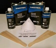 2 GALLONS Matrix System Clearcoat Clear MS-52  YOU CHOOSE Hardener!  PKG DEAL!!!