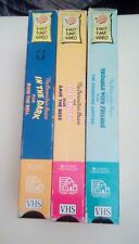 Berenstain Bears LOT of (3) VHS Trouble With Friends & The Truth & In The Dark