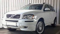 Front bumper spoiler Add on For  VOLVO XC90 MK1 Chin Lip Tuning