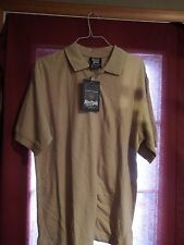 TAN SOUTH POLE SHORT SLEEVE SWEATER SHIRT SIZE XL