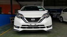 fits for nissan note  2017 18 19  front lip  aero body kit painted