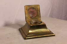 Vintage Bradley and Hubbard Brass Inkwell