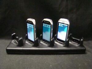 Motorola MC40 Handheld Mobile Computer MC40N0-SCJ3R00 (x4) w/ Charge Dock (x1)