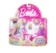 NEW Squinkies Barbie 5 Piece Party Pack - Series 4 *Retired