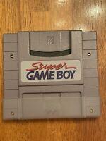 Super Nintendo Super Game Boy cartridge