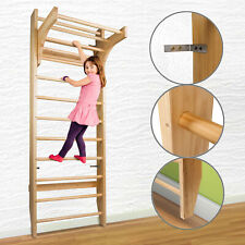 CCLIFE DSPWD002A Swedish Wooden Gymnastic Wall Bars