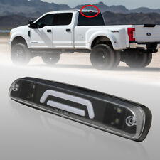 Black 3D LED Third Brake/3rd Rear Stop Light for 99-16 Ford F250/F350/F450/F550