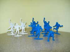 Vintage Papco Plastic Football Players (Lot of 14)