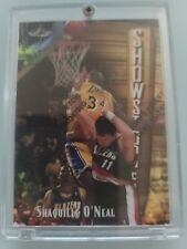 1997-1998 Topps Finest #309 Gold RARE Refractor Shaquille Shaq O'neal #170/289