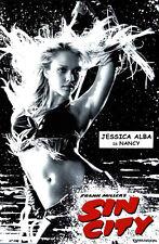 Jessica Alba 8x10 Sin City poster