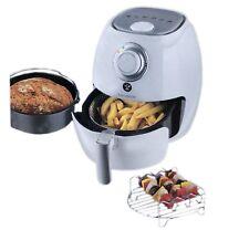 Kochwerk 9 in 1 Fritteuse Grill Ofen Heissluftfritteuse Brotbackautomat Weiss